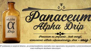 Panaceum alfa- kroplówka witaminowa