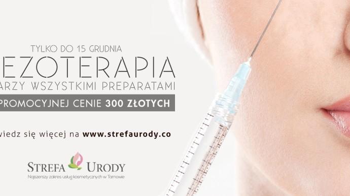 Permalink to: UWAGA PROMOCJA! Mezoterapia igłowa w cenie 300 zł.