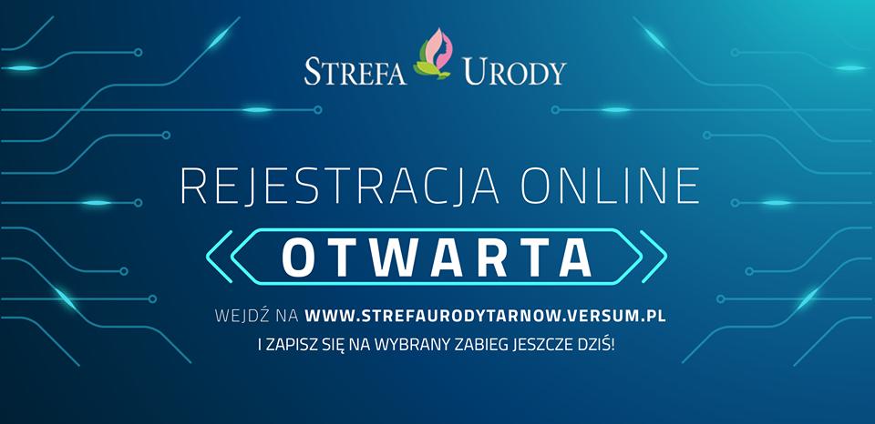 Rejestracja online otwarta!